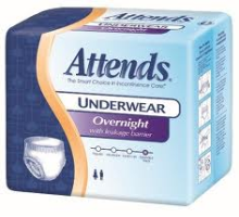 Attends Overnight Protective Underwear
