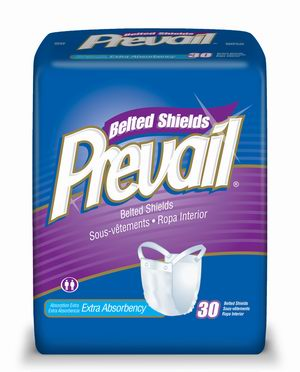 Prevail Belted Incontinence Pads