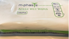 Generic Incontinence Wipes