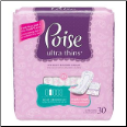 Poise Ultra Thin Panty Liner (SKU: KC19202)
